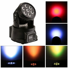 100W RGBW 4in1 7LED Moving Head Light DMX512 DJ Club Party Effect Stage Lighting