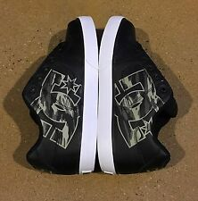 DC Pure XE Size 10 US Black Camo BMX MOTO Skate Shoes Sneakers