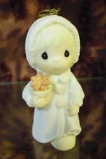 """Precious Moments-#531863 """"May Joy Bloom Within You"""" Legend of Poinsetta ORN-NIB"""