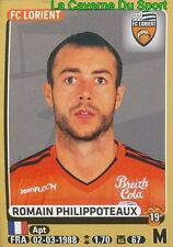 186 ROMAIN PHILIPPOTEAUX # FC.LORIENT Dijon.FCO STICKER PANINI FOOT 2016
