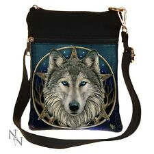 SHOULDER BAG WOLF THE WILD ONE WOLVES LISA PARKER SMALL NEMESIS NOW LADIES NEW