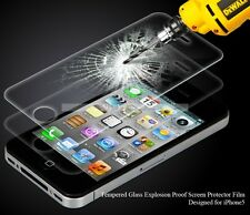 100% Genuine Tempered glass For Screen Protector For Apple Iphone 4 / 4s
