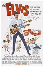 "ELVIS - SPINOUT - MOVIE POSTER 12"" x 18"""