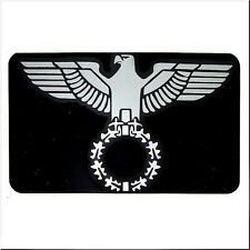 CAR HOOD FENDER TRUNK DECORATION DECAL STICKER SILVER CHROME EAGLE DECAL STICKER