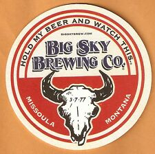 16 Big Sky Brewing Co. Draw Your Own   Beer Coasters