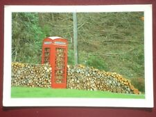 POSTCARD WOOD HAVE PHONED BUT THE LINE WAS BLOCKED