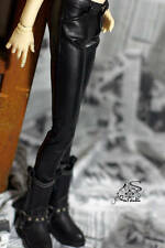 1/3 BJD 65cm SD17 boy doll outfit PU leather pants dollfie Iplehouse YID ship US