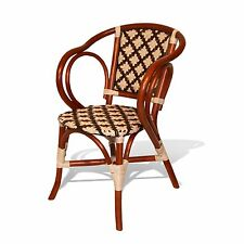 Dining Lounge Chair Carnival Plastic Weaving Handmade Rattan Wicker