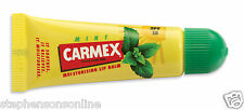 Carmex MINT Moisturising Lip Balm Tube SPF 15 For Dry & Chapped Lips 10g