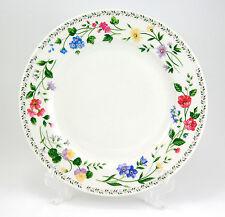 Farberware ENGLISH GARDEN 225 Dinner Plate 10.625 in. Flowers Vine White Berries