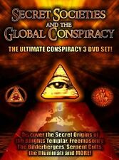 Secret Societies and the Global Conspiracy [3 Discs] (2010, REGION 1 DVD New)