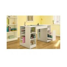 Craft Project Table Crafting Station Desk Storage Organizer Scrapbooking Cabinet