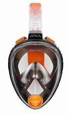 Ocean Reef Aria Full Face Snorkel Snorkeling Mask BLACK - L/XL