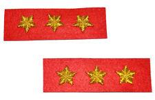 American Civil War ACW Confederate Artillery Colonels Collar Insignia Badges New