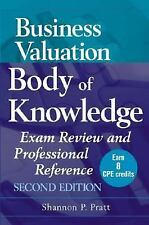 Business Valuation Body of Knowledge: Exam Review and Professional Reference, Sh