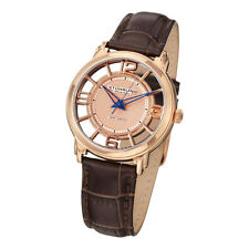 Stuhrling Original 360L 1245K14 Winchester Swiss Quartz Womens Leather Watch