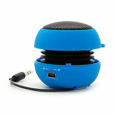 Portable Mini 3.5mm Jack Hamburger  Sound  Loud Speaker For Cell Phone Tablet PC