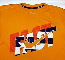 NIKE RUNNING FAST / DRI-FIT / VINTAGE ORANGE T-SHIRT SIZE S