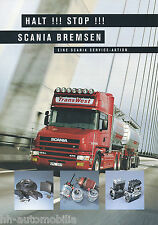 ACCESSORI prospetto SCANIA parti dei freni 1999 brochure Accessories Accessori Camion