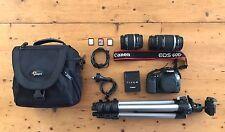 Canon EOS 60D + 2 Lenses + Tripod + More!!!