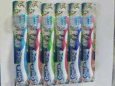 (6) ORAL-B PRO-HEALTH FOR ME TOOTHBRUSHES KIDS 8+ UP  TOOTHBRUSHES SOFT