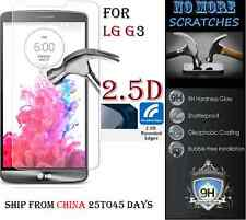 2.5D 9H REAL Tempered Glass Screen Protector LG G3 Vitre Trempé protecteur ecran
