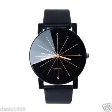 De Luxe Pour Hommes Robe Classique Wrist Watch Cuir PU Quartz Analogique