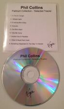 Phil Collins - Platinum Collection 9 Track UK Promo Cd Album Sampler Genesis