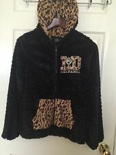 Authentic Japan Liz Lisa Tralala Jacket Coat Animal Black Leopard Small S Hoodie