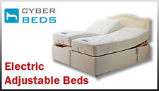 KING SIZE ADJUSTABLE BED POCKET SPRUNG MATTRESS AND 4 DRAWERS-FREE DELIVERY