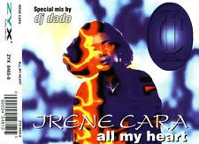 IRENE CARA  All My Heart  CD Single  1996 ZYX Music Germany dj DADO