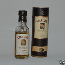 Aberlour aged 10 years Scotch Whisky 40% 50ml + Tube Collectors Bottle