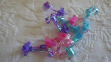 My Little Pony Accessories Lot 9 Earrings Plastic Toys