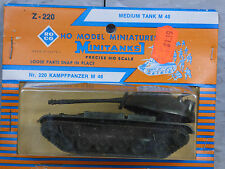 Roco Minitanks / Herpa (New) Modern US M-48 Medium Main Battle Tank Lot # 1273