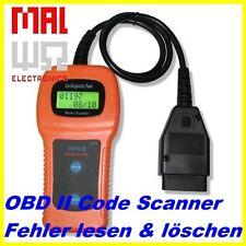 OBD II escáner u380, adecuado para citroen, error leer y eliminar!!! obd2!!!