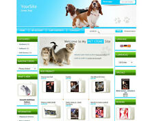 Pet Store Business Website For Sale. Sell Cats Dogs Birds Food Toys Homes.