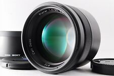 【A- Mint】 Sony Carl Zeiss Planar T* 85mm f/1.4 ZA AF Lens SAL85F14Z w/Box #2104