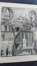 1888/89 6 Wien Burgtheater Theater August Förster