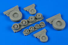 WHEELLIANT 148011 Weighted Wheels for Academy Kit F-14A Tomcat in 1:48