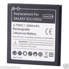 Battery Batery 2800mAh baterie bateria Samsung Galaxy S4 i9500 Replace Aditional