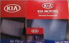 Genuine Kia Sportage 3 Pc Filter Kit OEM Oil + Engine Air + Cabin Air Filter
