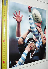 PHOTO RUGBY 1989 UNIVERSITE CAMBRIDGE-DOSHIBA KYOTO JAPON NIPPON