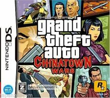 Used DS Grand Theft Auto: Chinatown Wars  NINTENDO JAPANESE IMPORT