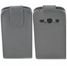 Black  Magnetic Leather Case Flip Cover Pouch For SamSung Galaxy Fame S6810  Hot