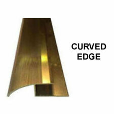 Wood & Laminate Flooring Trim Edging Metal Strip Gold / Silver up to 8mm +Screws