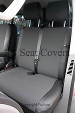 VW Transporter T5 SEAT COVERS 154 + LEATHERETTE MADE TO MEASURE