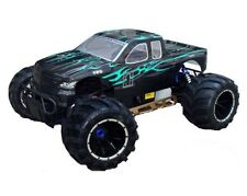 1:5 Scale Rampage MT V3 Gas RC Monster Truck 2.4GHz Remote Control Black & Green