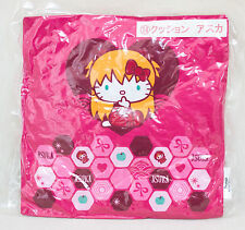 Evangelion × Hello Kitty Cushion Pillow Asuka Langley Ver. Sanrio JAPAN ANIME