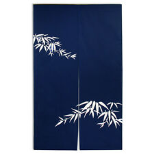 "Japanese 59""L Noren Indigo TAKE Doorway Room Divider Curtain Tapestry/Made Japan"