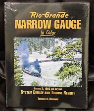 MORNING SUN BOOKS - RIO GRANDE NARROW GAUGE In Color Volume 2 - HC 128 Pages